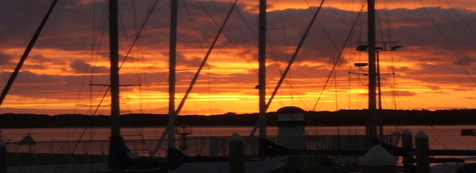 slide show no 4 called Sunrise Over The Marina